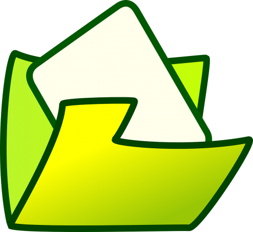 folder open file