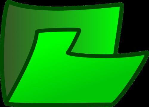folder,theme,green,sign,symbol,free vector graphics