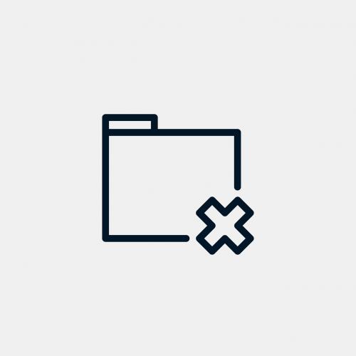 folder delete document