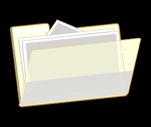 folder open filing