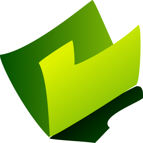 folder file open