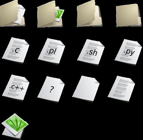 folder file paperwork