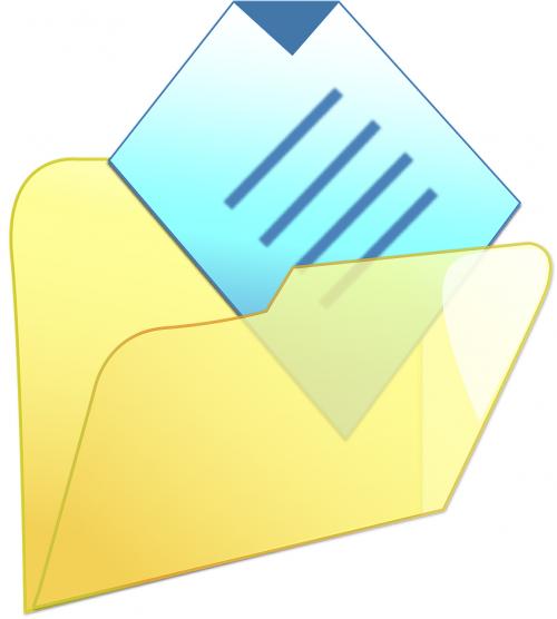 folder documents old