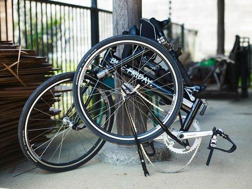 folding bike  bike  cycling