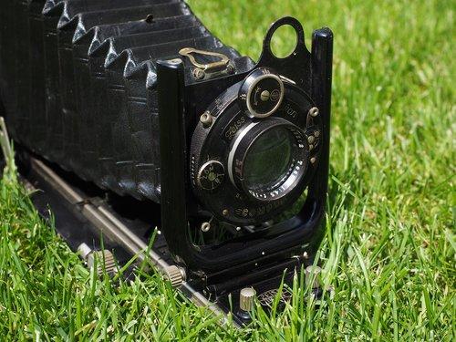 folding camera  camera  old