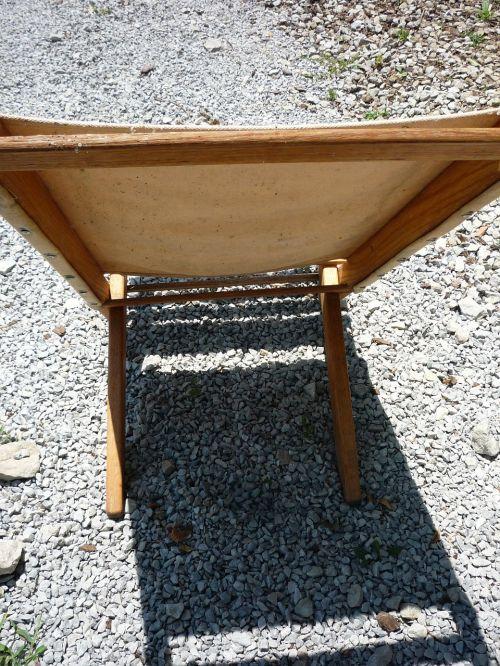 folding chair shadow wood chair