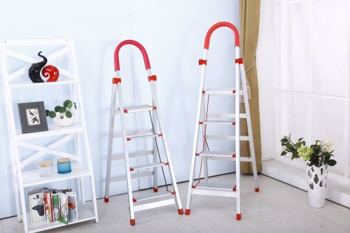 folding ladder safety stainless steel