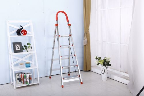 folding ladder stainless steel safety ladders