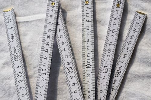 folding rule measure craft