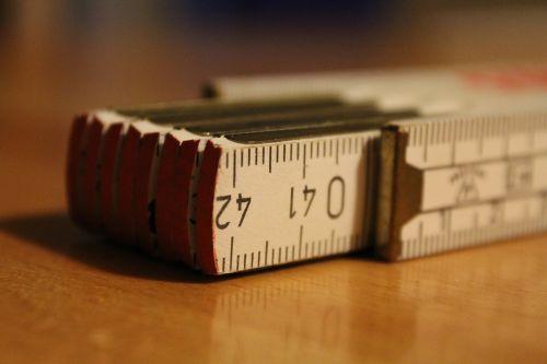 folding rule measure craft