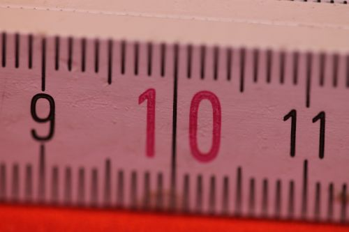 folding rule bers scale centimeters