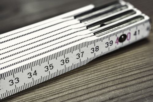 folding rule bers scale meter