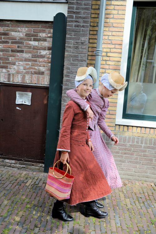 folkloras, šiaurė & nbsp, holland, Nyderlandai, kostiumai, istorija, paveldas, autentiškas, 2015 m., įvykis, paradas, folkloras schagen 2015