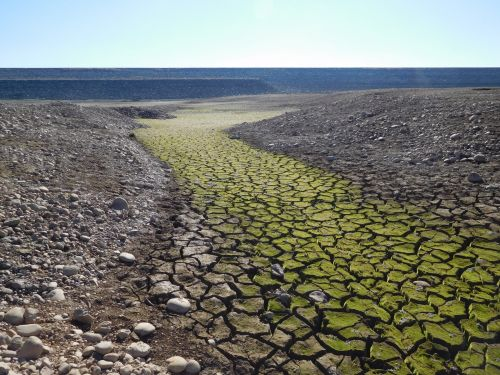 Folsom Lake Drought 87