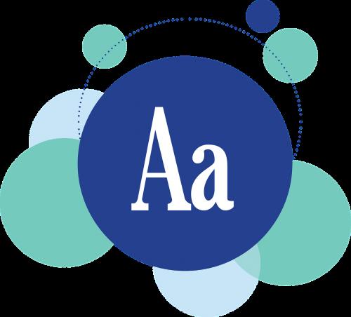 font graphic design icon