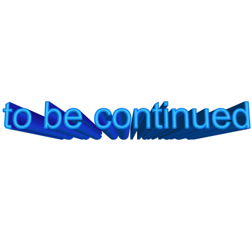 font 3d to be continued