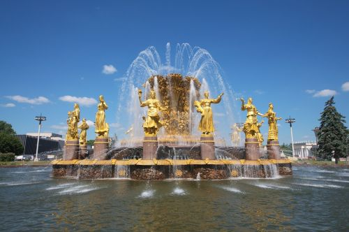 fontaine moscow gold