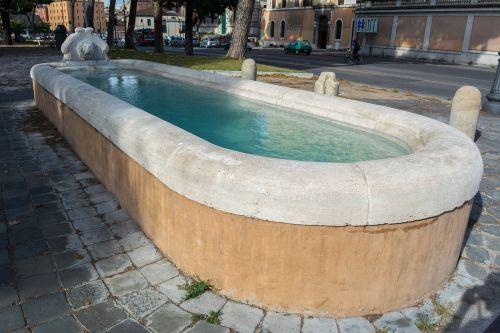 fontana a lungotevere aventino fountain sculpture