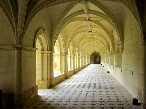 fontevraud abbey cloister france