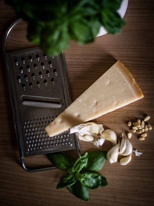 parmesan garlic baslikium