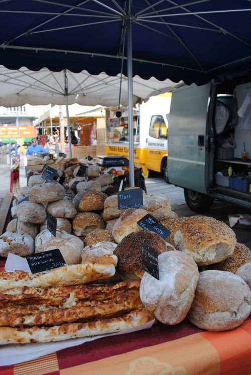 food bread market