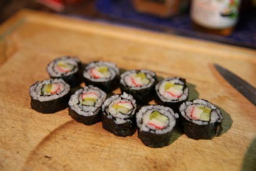 sushi food japanese