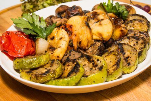 food vegetables grill