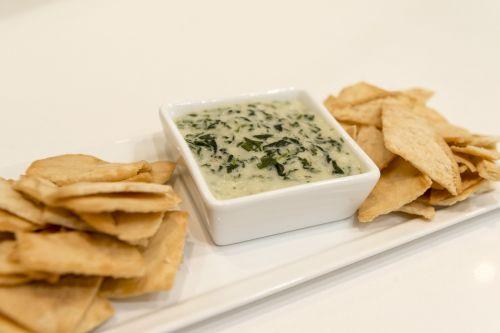food dip chips