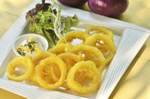squid rings fried deep fried