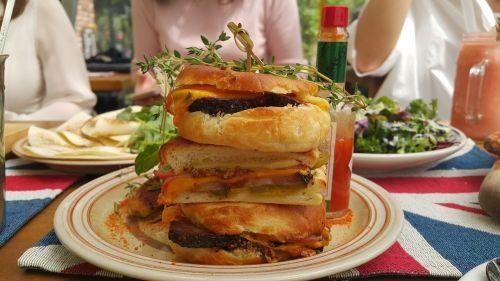 food sandwich dining