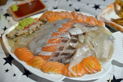 food sashimi time