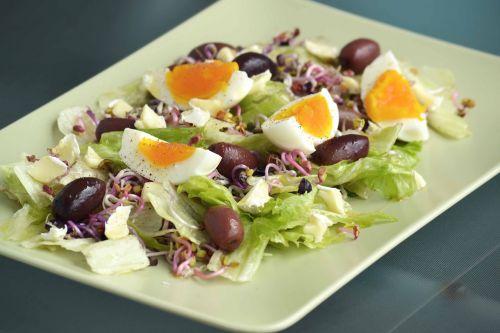 food salad olives