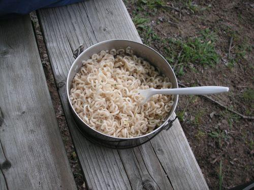 food camping summer