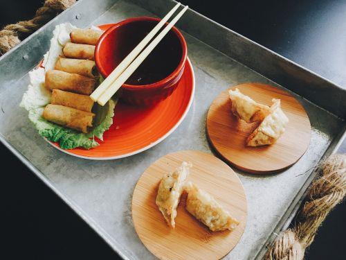 food potstickers dumplings