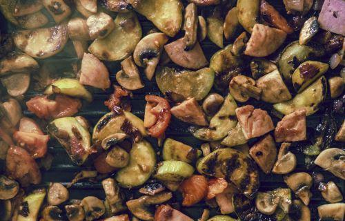 food fried frying pan