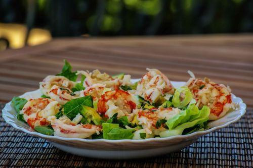 food shrimps prawns