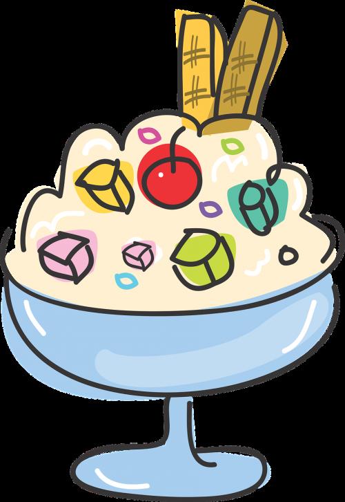 food dessert ice