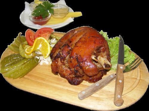 food knee meat