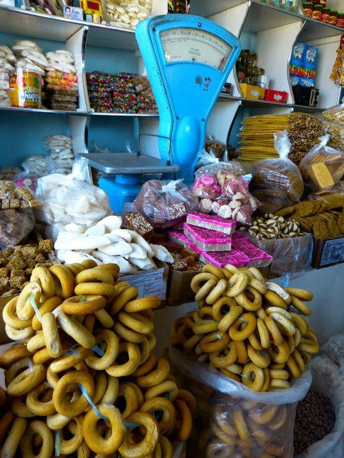 food shopping horizontal