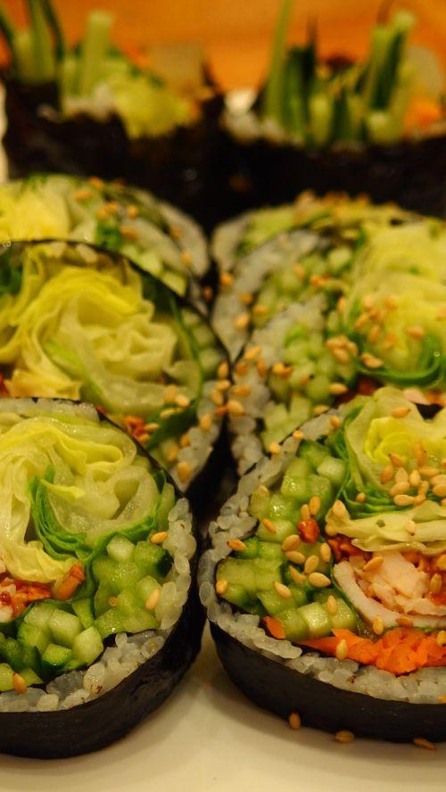 food korean food kimbub