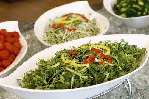 food salad buffet