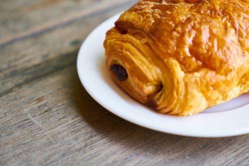 food croissant breakfast