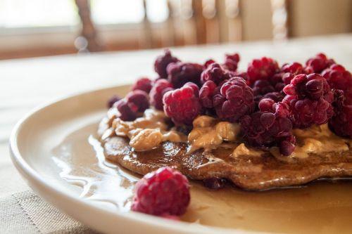 food breakfast pancake