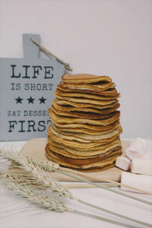 food pancake butter
