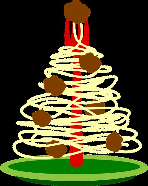 food plate spaghetti