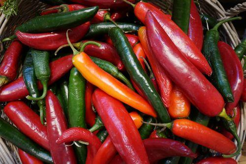 food chili vegetables