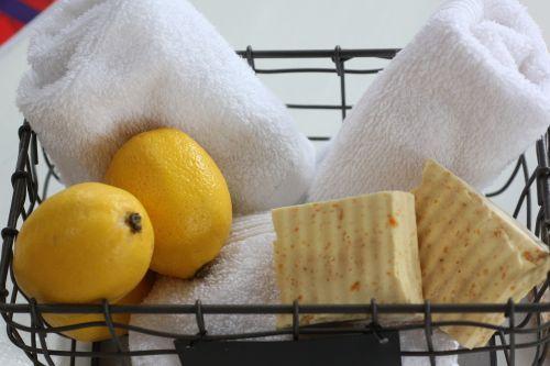 food lemon soap coconut oil soap