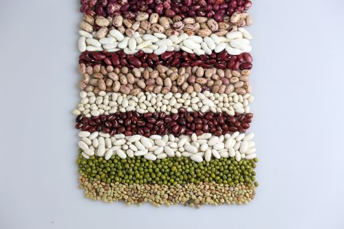 food background beans