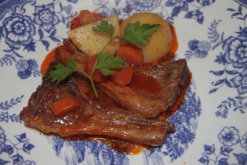 food  dish  meat