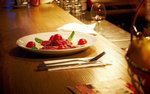 food  plate  pasta